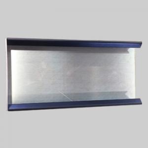 Couvertine aluminium avec rabat