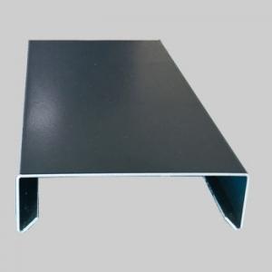 Couvertine aluminium noir